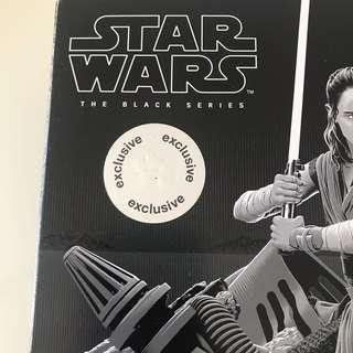 Star Wars Black Series Rey (Jedi Training).Toys R Us Exclusive