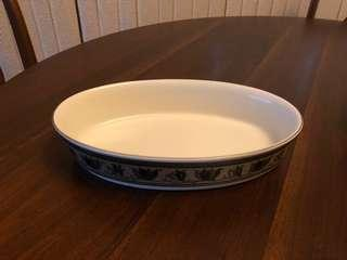 Mikasa Arabella Oval Baker 1 Quart New in Box