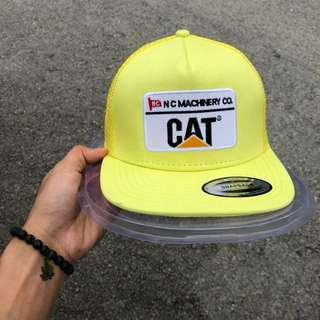 CAT Snapback Yellow