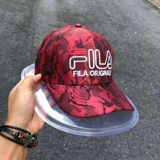 Fila Originale Cap Camo Red