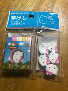 文具 Sanrio Hello Kitty 擦膠