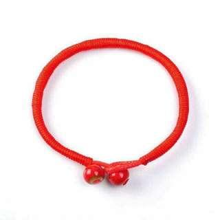 Red string from the heart of tibet