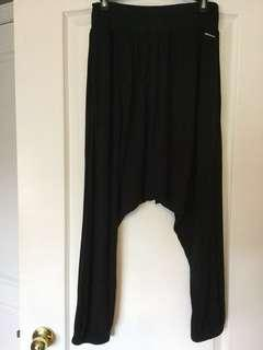 Women's black harumpants. Size S, Small. Ladies/ Girls/Teens