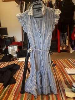 Portmans button up collar dress
