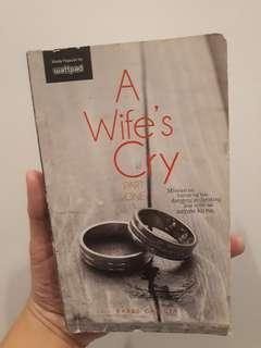 A wife cry