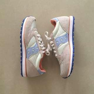 Saucony WMNS Jazz Lowpro (Offwhite/Blue)