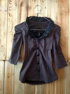 Vintage Purple Top