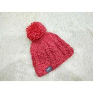 🚚 加州椰子 西瓜紅毛球針織毛帽