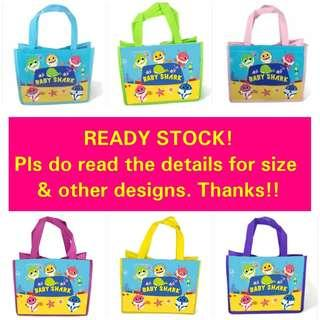 1for$1.20 12for$14 Baby Shark Pinkfong Goodie Bag for children's birthday party or full month welcoming celebration