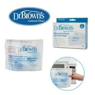 Dr Brown Browns Microwave Steam Sterilizer Bags