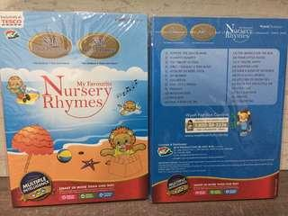 Babies Kids Nursery Rhymes / Songs CD