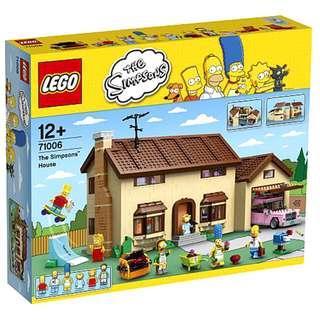 Lego Simpson's House 71006 (last set)