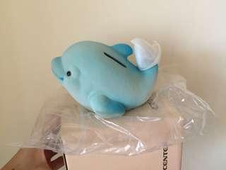 🚚 鯨魚 存錢筒 撲滿