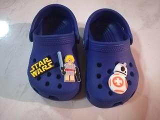 Crocs Baby Shoes (Starwars jibbitz)