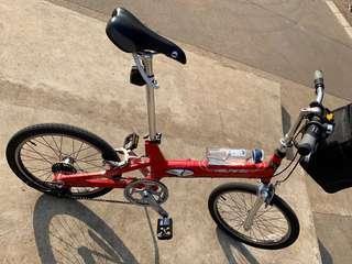 GIANT HALFWAY folding bike 7 speed