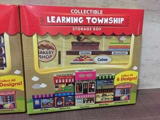 Learning township storage box