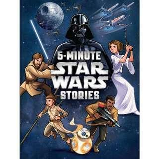 @(Brand New) 5-Minute Star Wars Stories [5-Minute Stories]  [Hardcover]   By: Lucasfilm Press