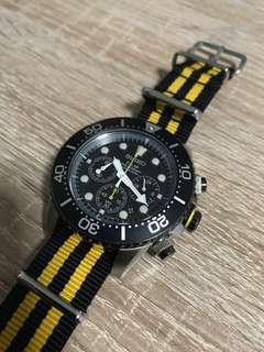 Price reduced - Seiko Chronograph Diver Watch SSC021
