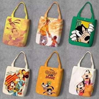 Disney Goofy Dog Tote Bag