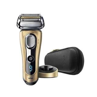 Braun Series 9 9299ps Shaver金色電鬚刨配備充電插座和旅行盒