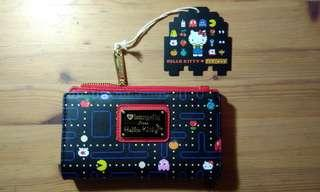 BNWT Loungefly Hello Kitty x Pac-Man Wallet