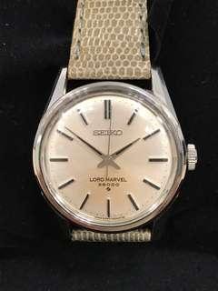 Vintage 1968 Seiko Lord Marvel 36000bph Manual Winding Watch