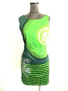 DESIGUAL  made in Spain art dress  M fit 10 12