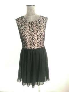 W silk party dress  10