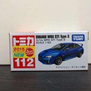 Tomica 112 SUBARU WRX STI Type S 新車貼