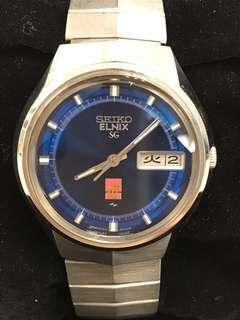 Vintage Seiko Elnix SG 0723-6000
