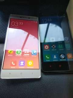 2 Xiaomi Phones (China)