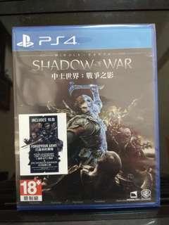 PS4 Shadow of War