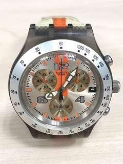 Swatch Irony Chrono Diaphane SVCM4003 Too Fast