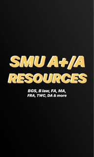 SMU A/A+ notes and study resources