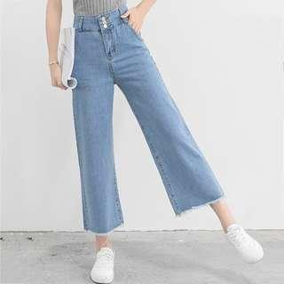INSTOCK High waisted loose jeans