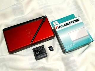 Metalic Red Ds lite R4 with 50 games installed