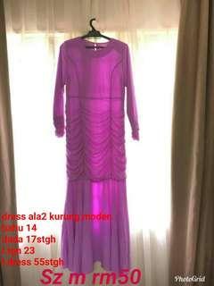 Dress kurung moden