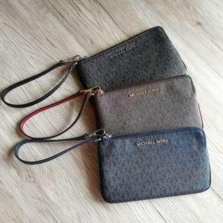 MK Readystock Large Wristlets with Gift Receipt