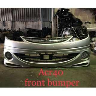 Toyota Estima Acr40 Front bumper