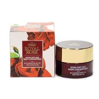 🌹現貨🌹保加利亞Biofresh皇家玫瑰極致抗齡Q10夜間精華 (40ml) (Ultra anti-age night concentrate with Bulgarian rose oil Royal Rose Biofresh)