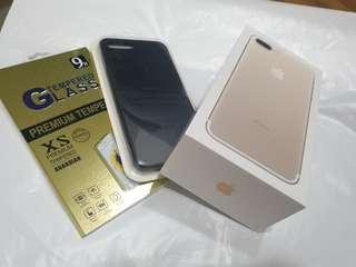 Iphone 7 plus gold 128gb apple
