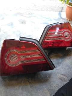 Faulty Waja rearlight ( Lampu Belakang )
