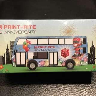 Tiny Print-Rite 35周年紀念巴士