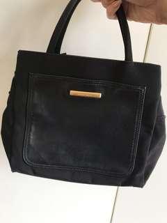 Nine West handbag black mini tote bag