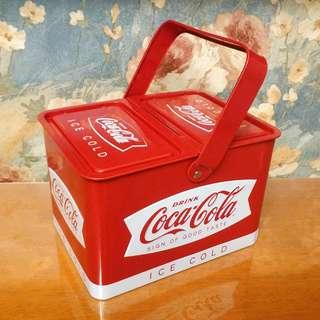 可口可樂 鐵罐 Coca Cola Tin Box Metal Box