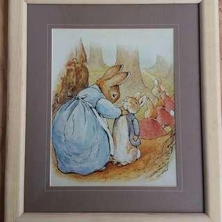Original Peter Rabbit Picture Frame