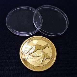 1安士 澳洲袋鼠 金幣 9999足金