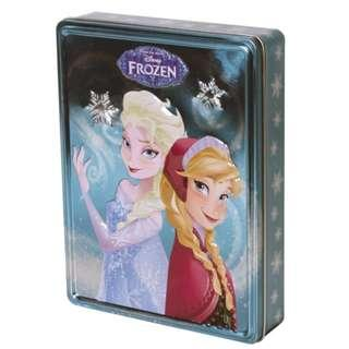 (Brand New) Disney Frozen  [Happy Tin]  Books, Stickers, Poster and Pens By: Parragon Books Ltd