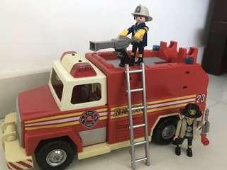 Play mobil Fire Engine 5843