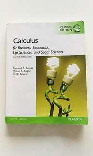 Calculus textbook (13th edition)